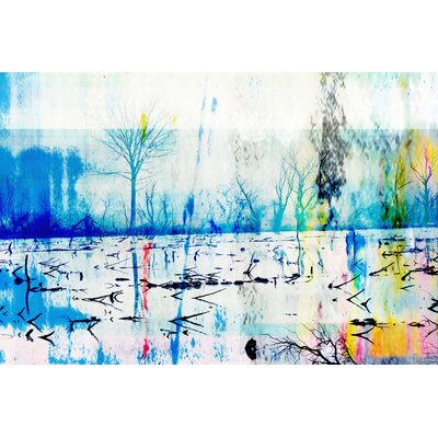 Morrison Lake by Parvez Taj Graphic Art on Canvas