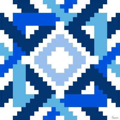Parvez Taj Fair Isle - 27 by Parvez Taj Graphic Art on Canvas