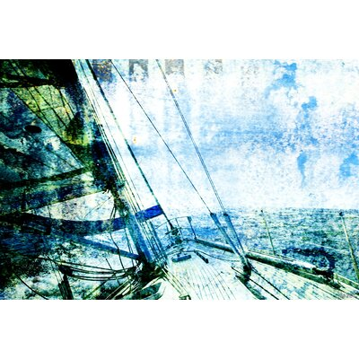 Parvez Taj Marina by Parvez Taj Graphic Art on Canvas