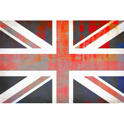 ParvezTaj Union Jack Wall Art