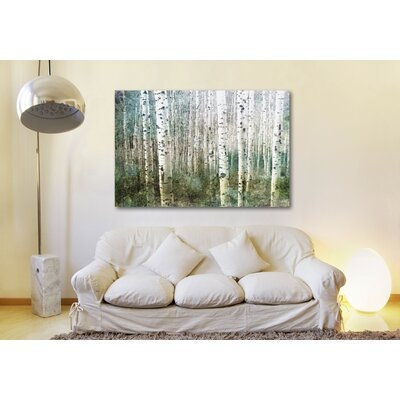 Parvez Taj Aspen Green Canvas Art