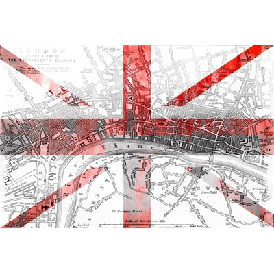 London 2 Graphic Art on Canvas