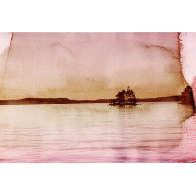 Crown Island Graphic Art on Canvas