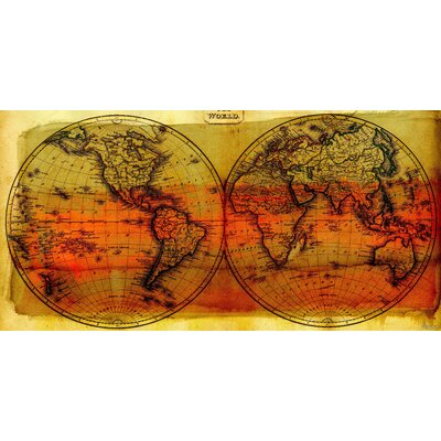 ParvezTaj Globe Trotting Canvas Art