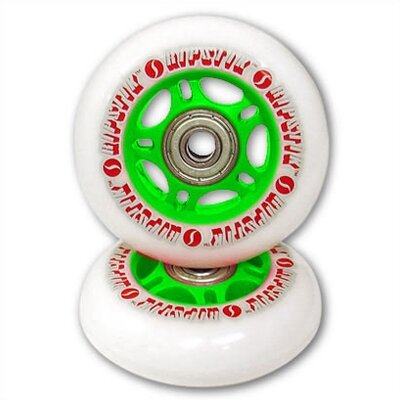 Razor RipStik Caster Board Replacement Wheel Set in Green