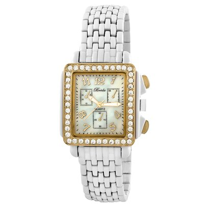 Breda Women's Samantha Watch in Gold / White