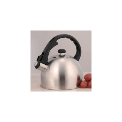Creative Home Satin Symmetry 1.5-qt. Whistle Tea Kettle