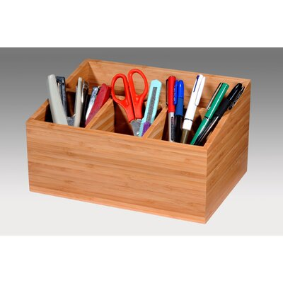 Creative Home Bamboo Section Holder