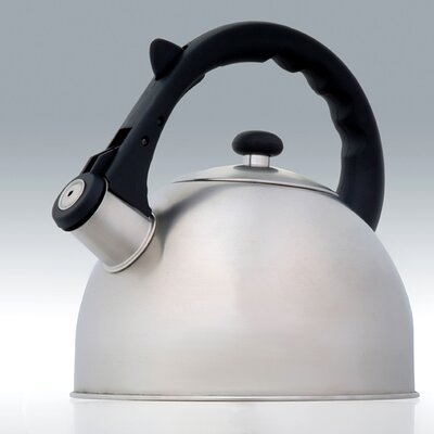 Creative Home Satin Splendor 2.8-qt. Whistle Tea Kettle