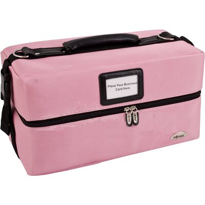 Sunrise Cases Soft-Sided Professional Makeup Case