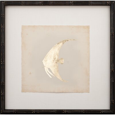 Mirror Image Home Gold Leaf Fish II Art