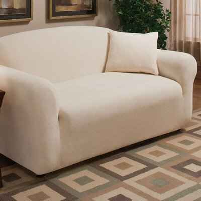 Stretch Microfleece Loveseat Slipcover