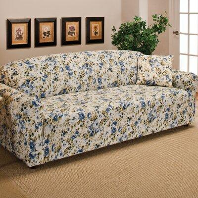 stretch jersey sofa slipcover wayfair. Black Bedroom Furniture Sets. Home Design Ideas