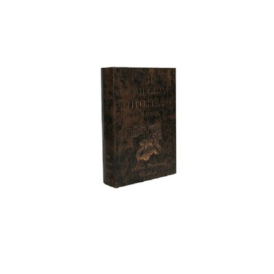 Orchard Design Book Box in Distressed Cherry