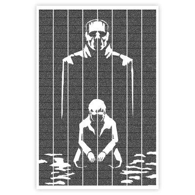 Postertext Frankenstein Graphic Art