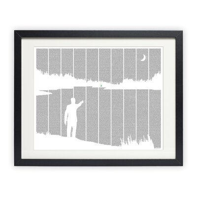 Postertext The Great Gatsby Art Print