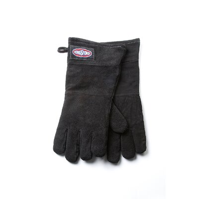 Kingsford Leather Grill Glove in Black