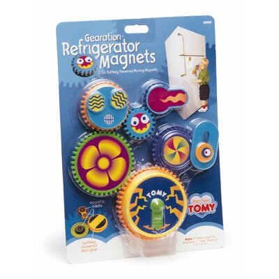 Tomy Tomy Gearation Refrigerator Magnets