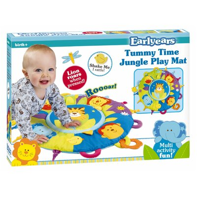 Early Year Early Years Tummy Time Jungle Activity Play Mat