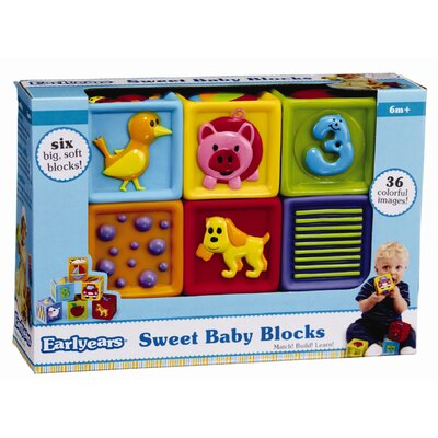 Early Years Sweet Baby Blocks