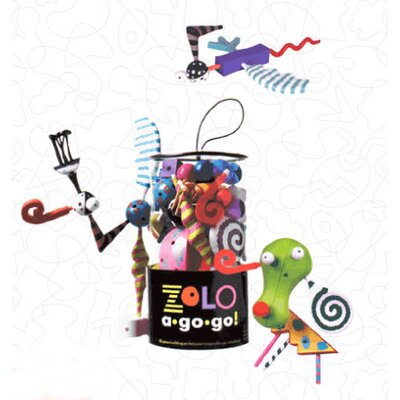 Zolo A-Go-Go Play Sculpture Set