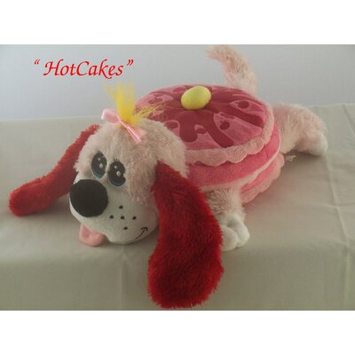 "Play World Pancake Puppies ""Hot Cakes"" in Hot Pink"