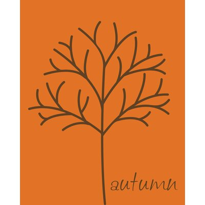 Secretly Designed Autumn Tree Art Print