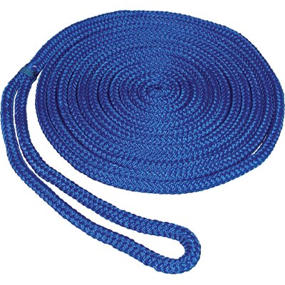 "Unified Marine 0.375"" x 15' Double Braid MFP Dockline in Blue"