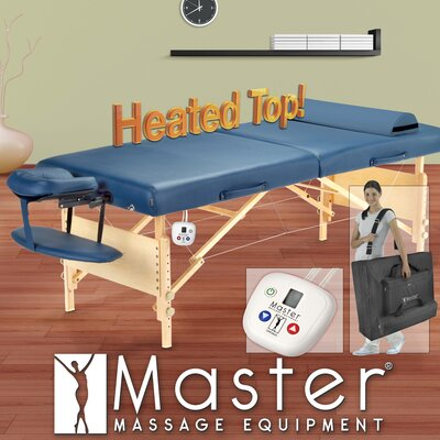 Master Massage Coronado LX Therma Top Package Massage Table