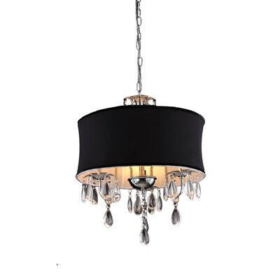 Cassiopeia 3 Light Crystal Chandelier