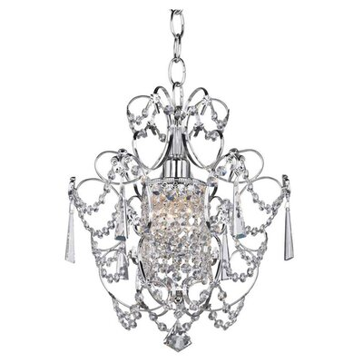 Princess 1 Light Crystal Chandelier