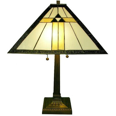 Warehouse of Tiffany Mission Sun Rays Table Lamp
