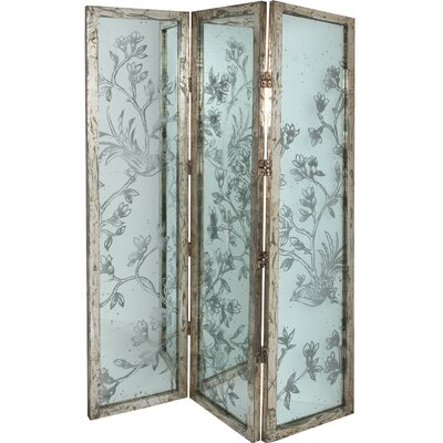 "A&B Home Group, Inc 72"" x 52.5"" Three Panel Room Divider"