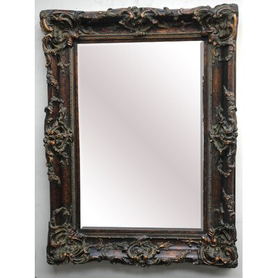 Sir Lionell Decorative Framed Mirror in Dark Gold Patina