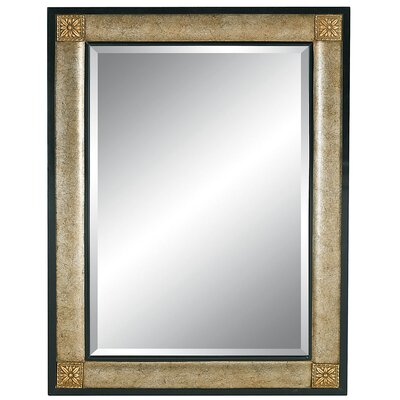 Contemporary Fashions Wall Mirror in Burnt Silver