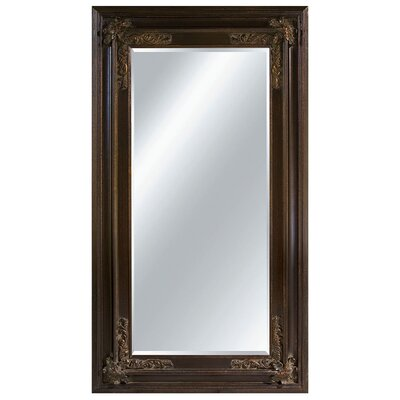 Aristocratic Allure Wall Mirror in Dark Gold