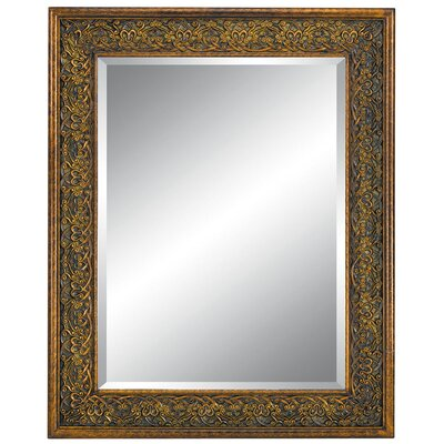 Imagination Mirrors Designer's Delight Wall Mirror in Burnt Gold