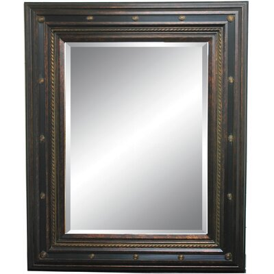 Fine Arts Wall Mirror in Dark Gold