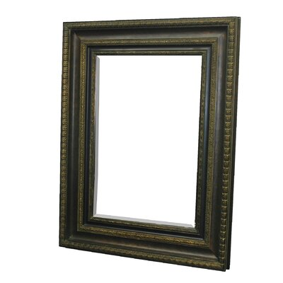 Imagination Mirrors Mahogany Majesty Wall Mirror in Mahogany