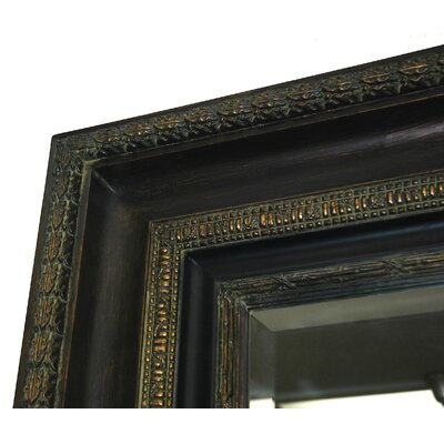 Imagination Mirrors Mahogany Majesty Small Wall Mirror in Mahogany