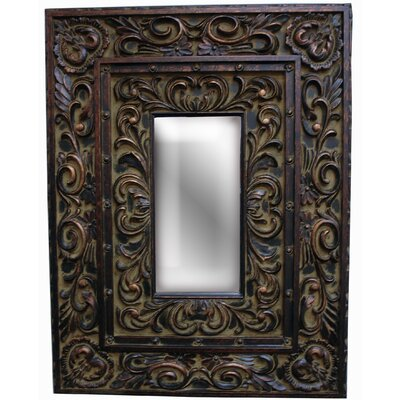 Designer's Choicest Wall Mirror in Old Black Gold