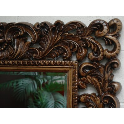 Imagination Mirrors Flora Rectangular Traditional Framed Mirror