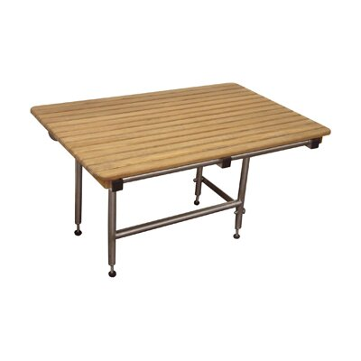 ADA Complaint Teak Shower Bench with Legs