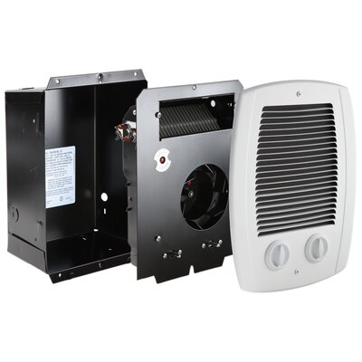 Com-Pak Bath Fan Forced Wall Space Heater
