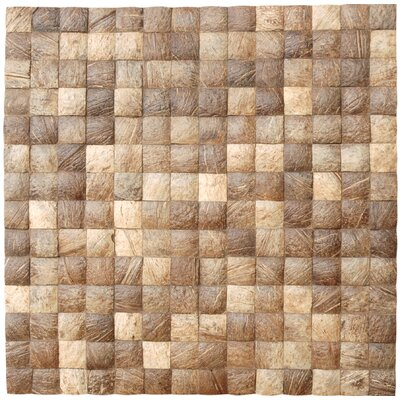 Coconut Mosaic Tile in Natural Grain