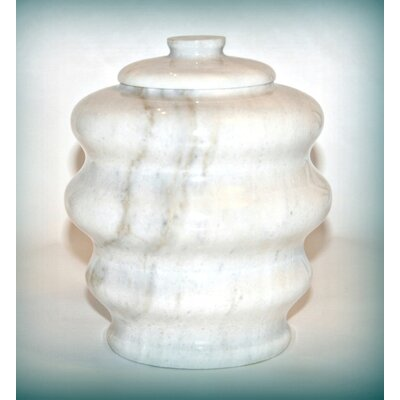 Marble Products International Fuji White Pet Urn