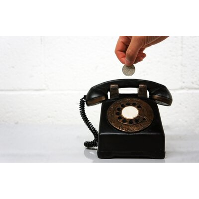 Molla Space, Inc. Retro Coin Bank Phone