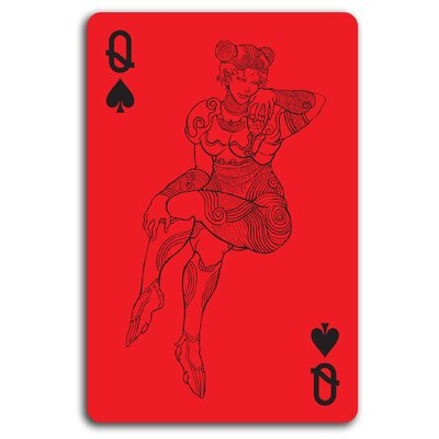 Molla Space, Inc. Red Playing Cards