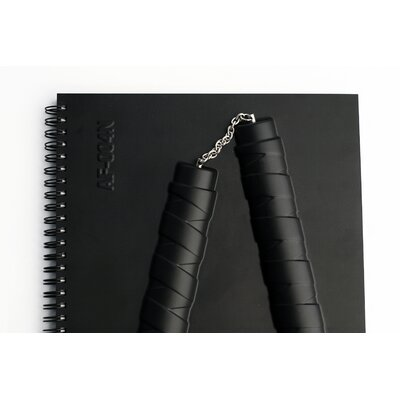 Molla Space, Inc. Nunchucks Armed Notebook