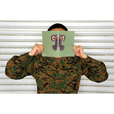 Molla Space, Inc. Gas Mask Peeping Notebook